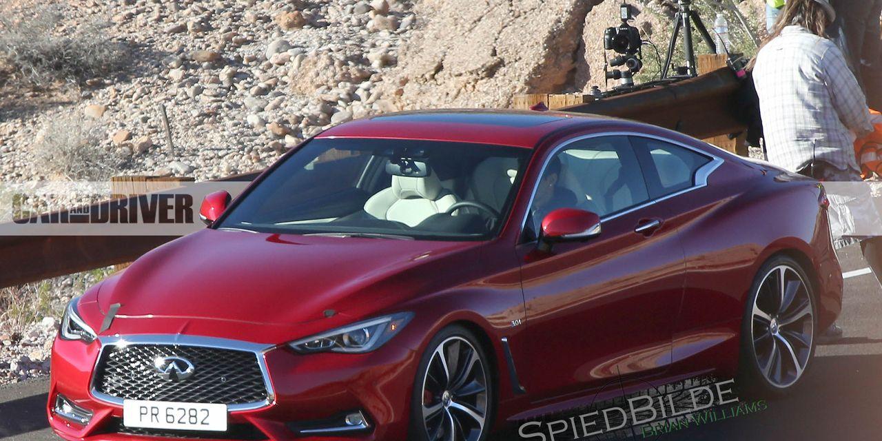 2017 Infiniti Q60 Coupe Spy Photos 8211 News 8211 Car And Driver