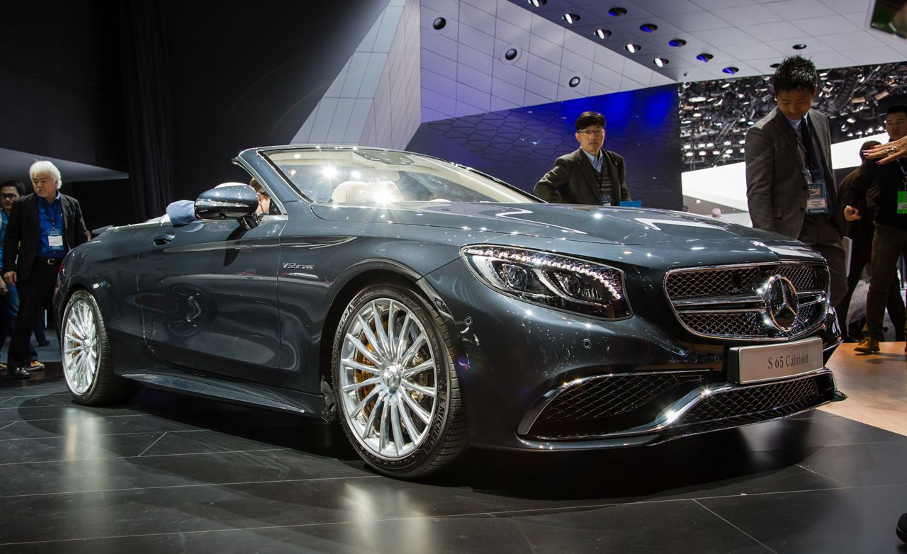 2017 Mercedes Amg S65 Cabriolet Photos And Info 8211 News Car Driver