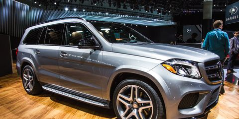 2017 Mercedes Benz Gls Cl The Gl Gets A Redo And New Name
