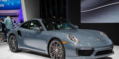 49a06232a130 2017 Porsche 911 Turbo and Turbo S Photos and Info – News ...