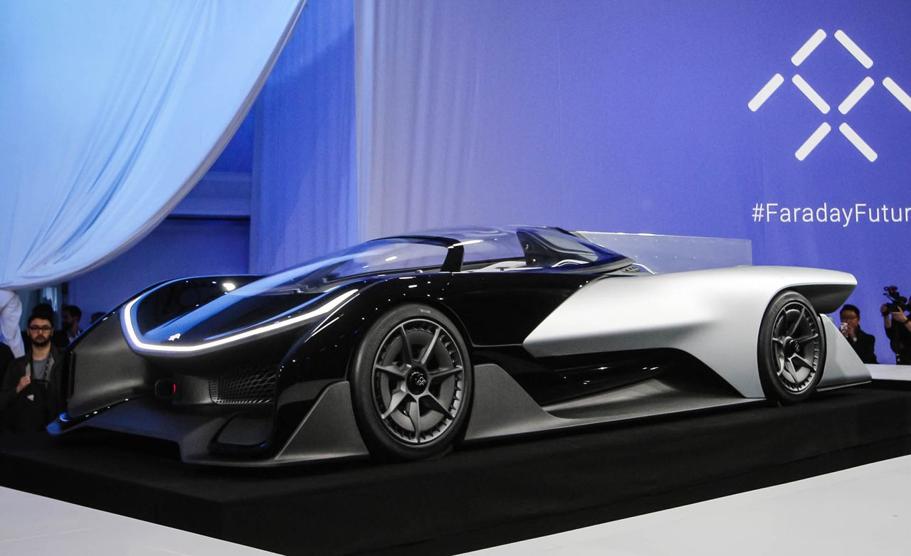 Faraday Future Ffzero1 Concept A Wild 1000 Hp Electric Eship That Previews Production Evs Maybe