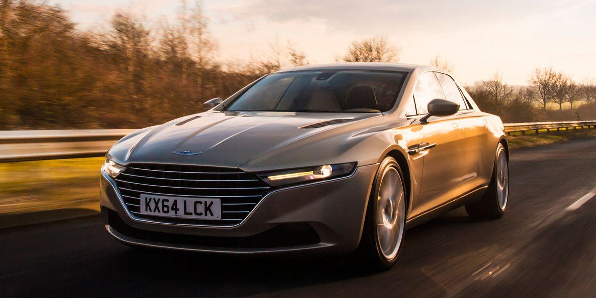 1 Million 2016 Aston Martin Lagonda Taraf Driven