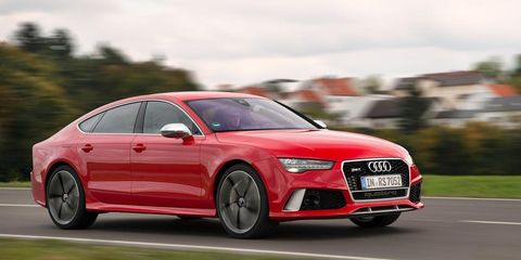 2016 Audi Rs7 60 Second Review 8211 Video 8211 Car And Driver