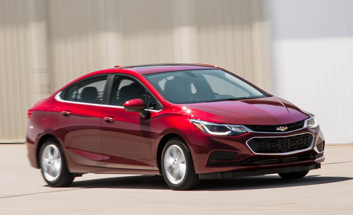 2016 Chevrolet Cruze 1 4t Automatic 8211 Review 8211 Car And Driver