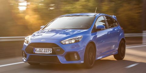 View Photos Image The Ford Focus Rs
