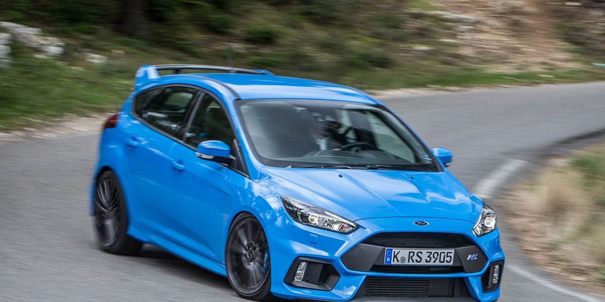 Tested 2016 Ford Focus Rs