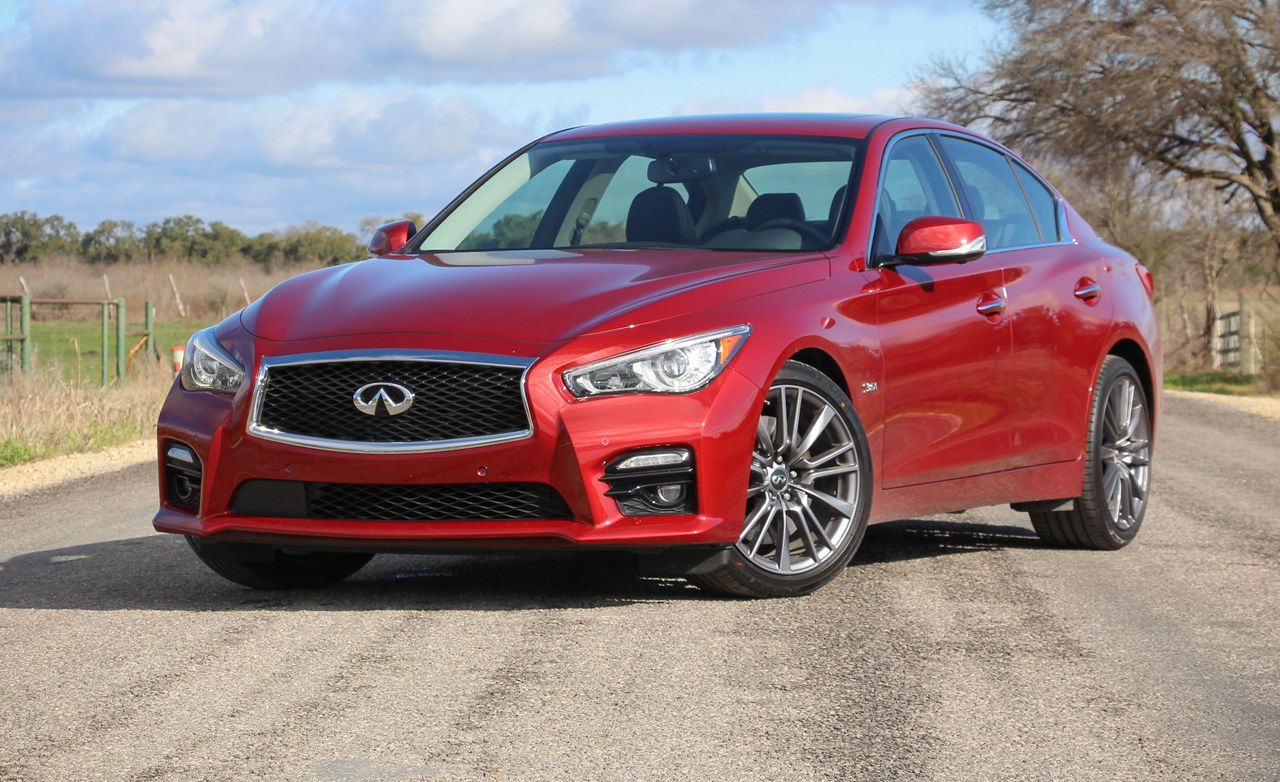 2016 Infiniti Q50 Red Sport 400 First Drive 8211 Review Car And Driver