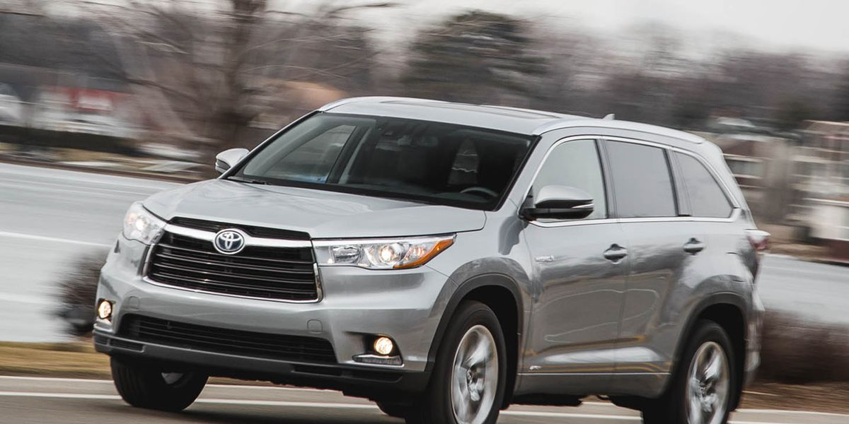 2016 Toyota Highlander 8211 Review 8211 Car And Driver