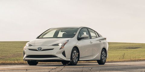 2016 Toyota Prius Two Eco Test 8211 Review 8211 Car And Driver