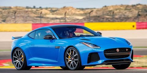 F Type Price >> 2017 Jaguar F Type Svr First Drive 8211 Review 8211 Car And Driver