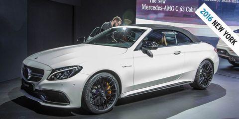2017 Mercedes-AMG C63 Cabriolet Photos and Info – News ...