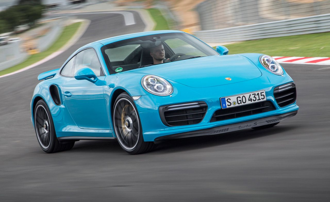 2017 Porsche 911 Turbo S First Drive 8211 Review Car And Driver
