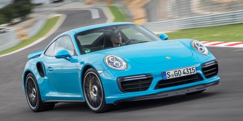 View Photos Image I M Sitting In The Penger Seat Of An Updated 2017 Porsche 911 Turbo S