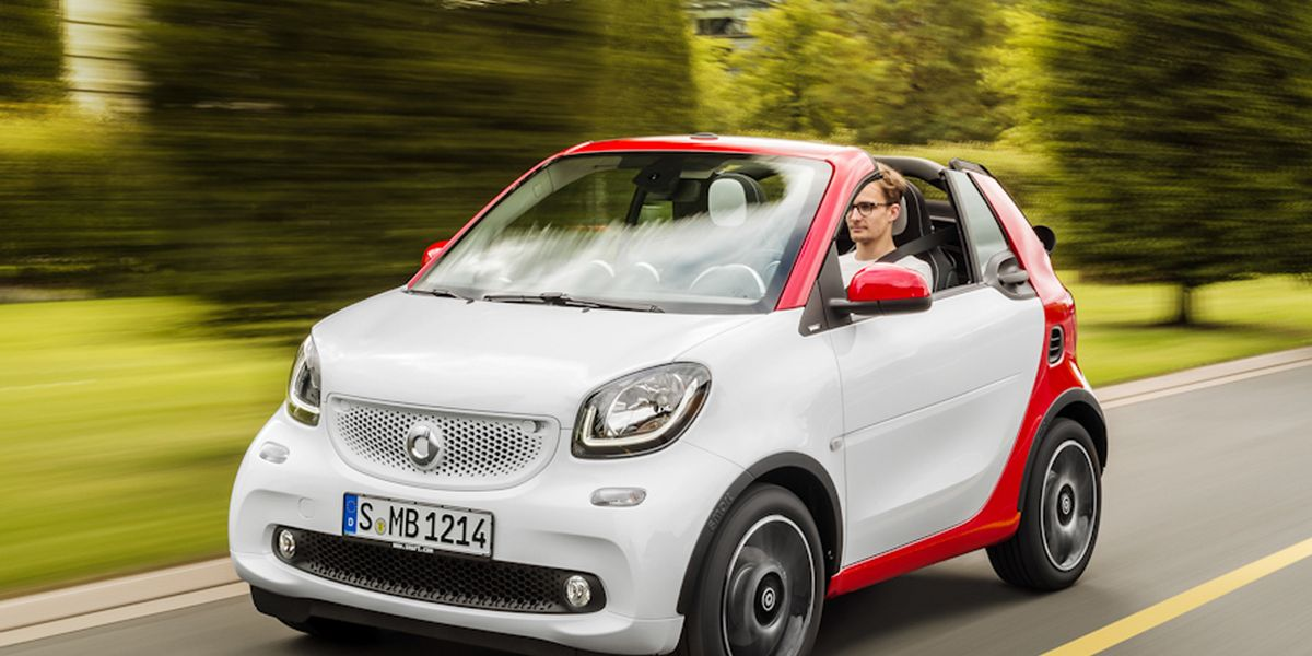 2017 Smart Fortwo Cabriolet First Drive 8211 Review Car And Driver