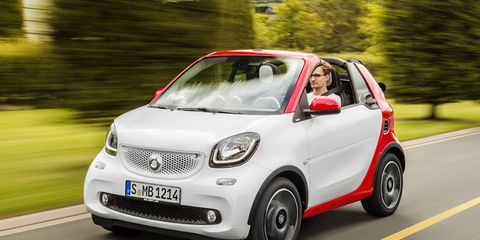 Image The Outgoing Smart Fortwo Cabriolet Was