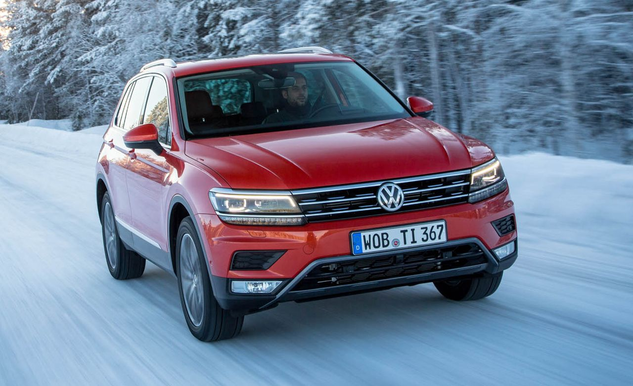 2017 Volkswagen Tiguan Awd Prototype Drive 8211 Review Car And Driver