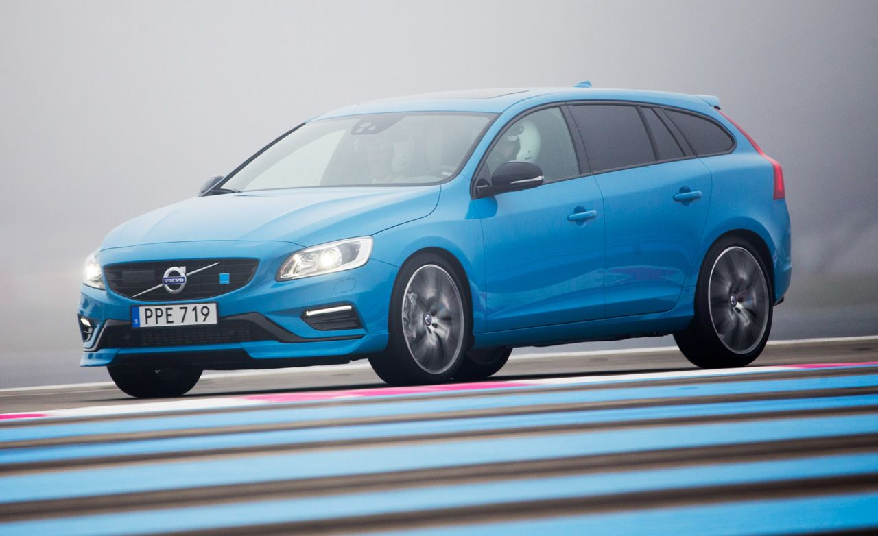 2017 Volvo V60 Polestar First Drive 8211 Review Car And Driver