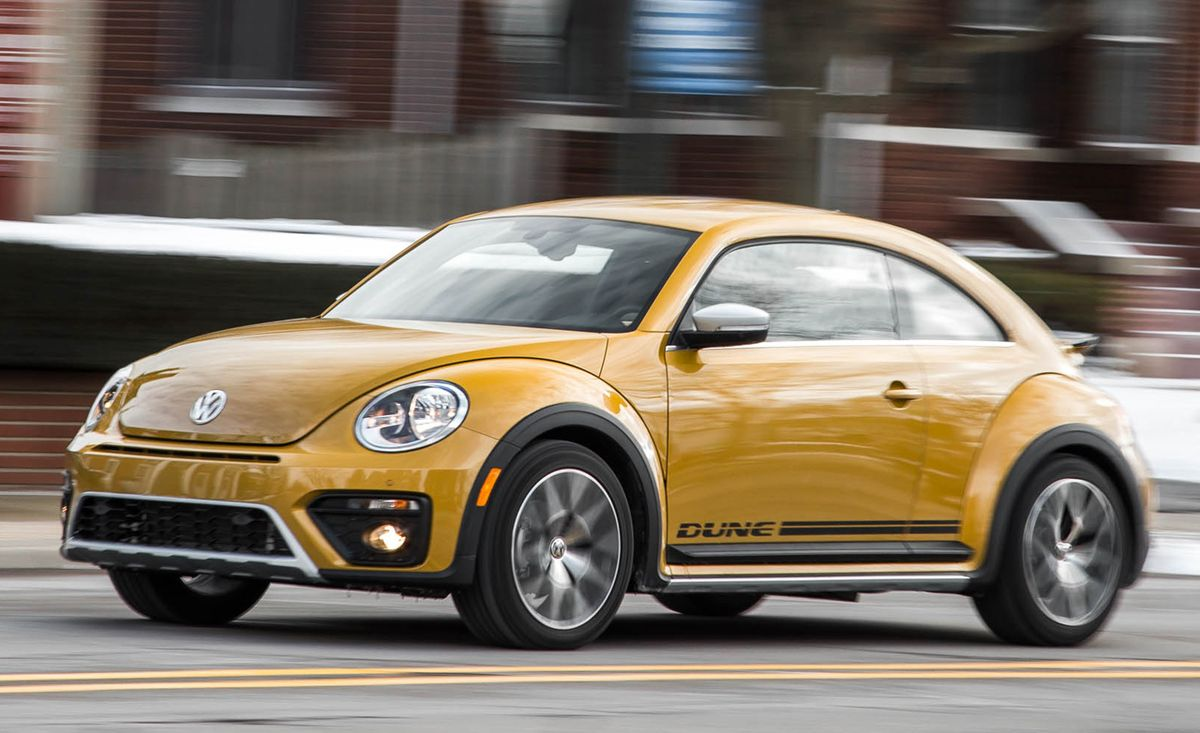 Volkswagen Beetle Dune Test 8211 Review 8211 Car And Driver