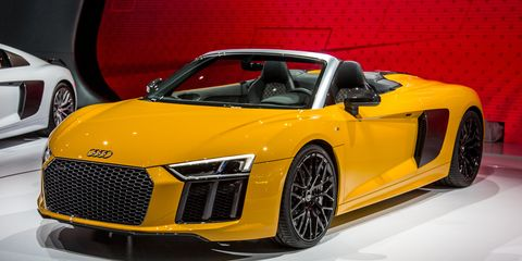 2017 Audi R8 Spyder Photos And Info 8211 News 8211 Car And Driver