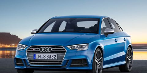 2017 Audi S3 Sedan More And A New Ish Face