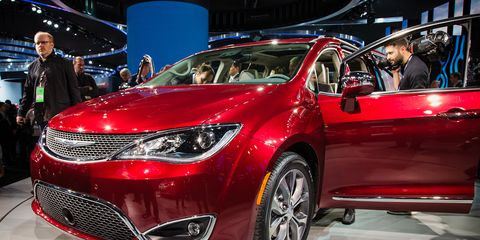 2017 Chrysler Pacifica Meet The New Town Country