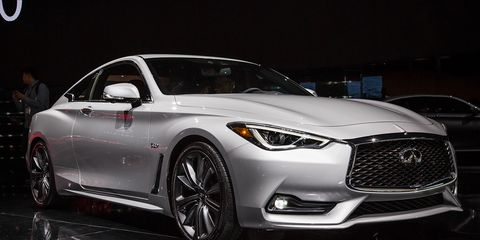 2017 Infiniti Q60 Gets Serious About Sports Coupes Again