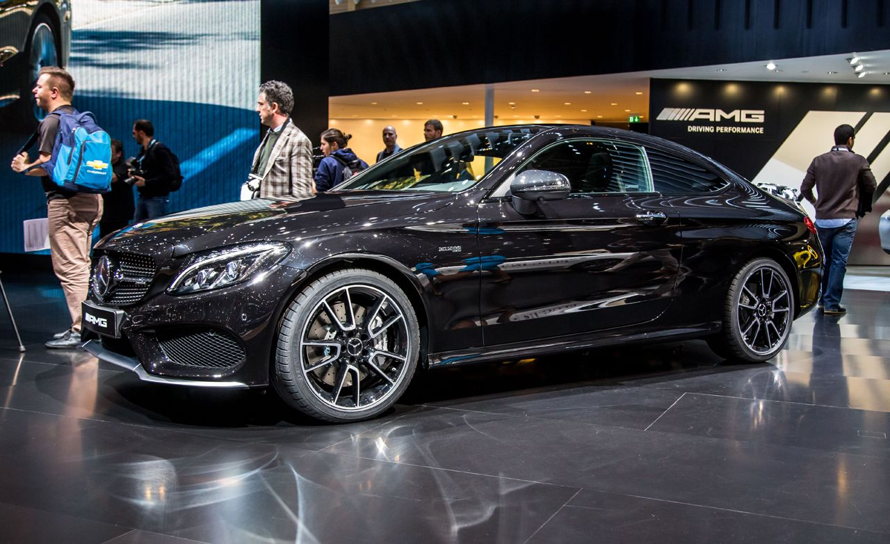 2017 Mercedes Amg C43 Coupe Photos And Info 8211 News Car Driver