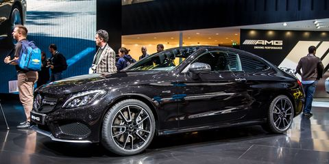 Mercedes C43 Amg Coupe >> 2017 Mercedes Amg C43 Coupe Photos And Info 8211 News