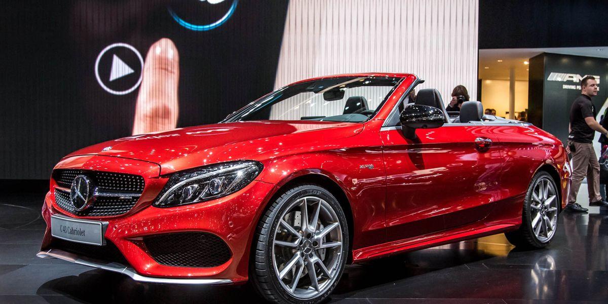 2017 Mercedes-Benz C-class Cabriolet Photos and Info ...