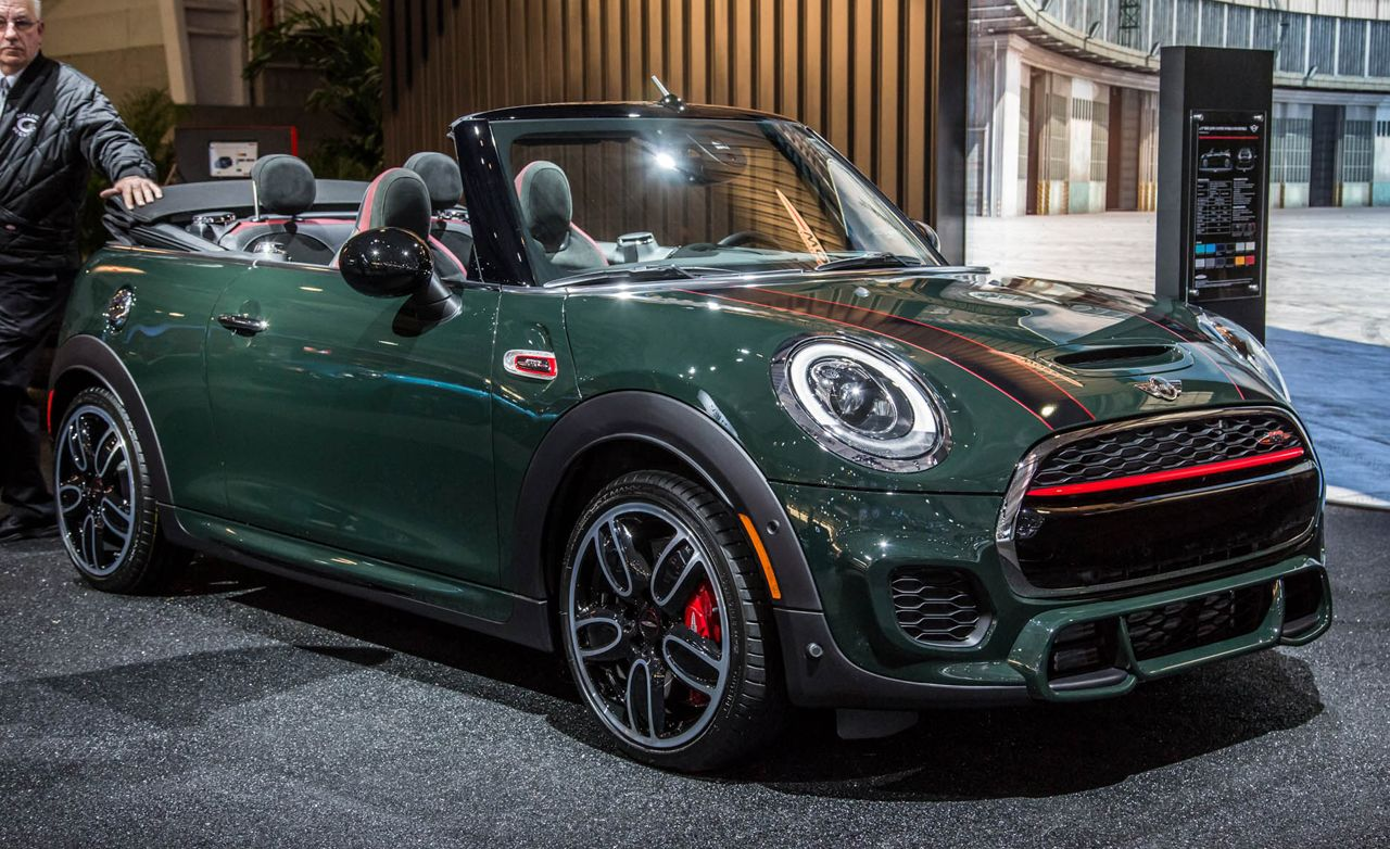 2017 Mini Jcw Convertible Revealed 8211 News 8211 Car And Driver