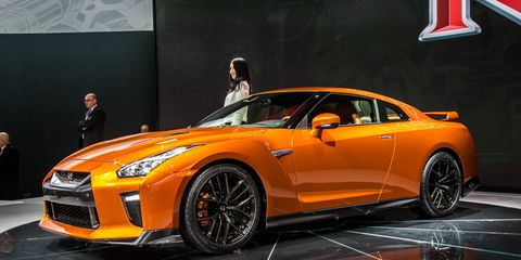 3bb4b9e167cc18 2017 Nissan GT-R Gets More Power – News – Car and Driver