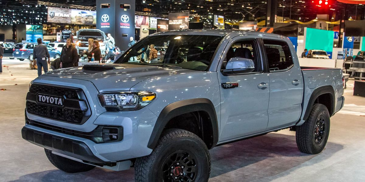 2017 Toyota Tacoma Trd Pro Photos And Info 8211 News 8211 Car And Driver