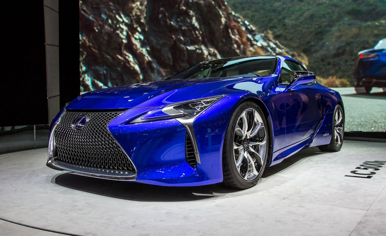 2018 Lexus Lc500h Hybridized With Two Transmissions For Your Pleasure