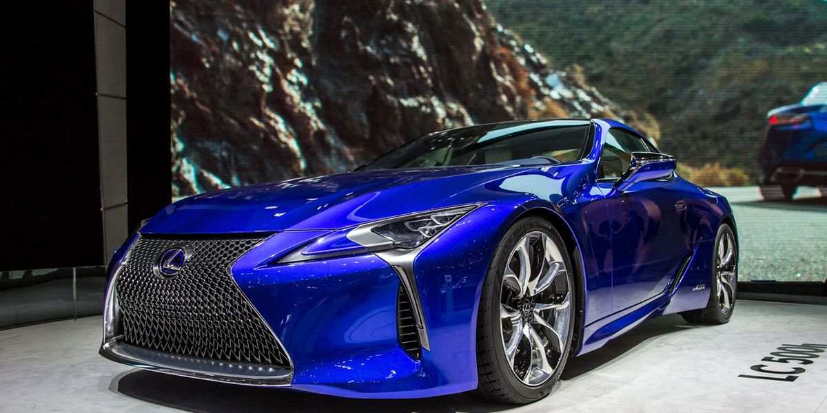 Honda Certified Used Cars >> 2018 Lexus LC500h Hybrid Coupe Photos and Info – News – Car and Driver
