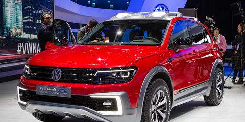 Gettin Tiggy With Electricity Vw S Tiguan Gte Active Concept