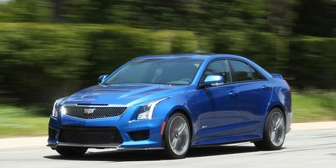 2016 Cadillac Ats V Sedan Manual