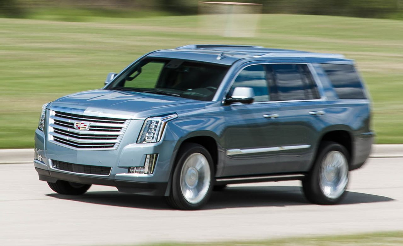 2016 Cadillac Escalade Platinum Test 8211 Review Car And Driver