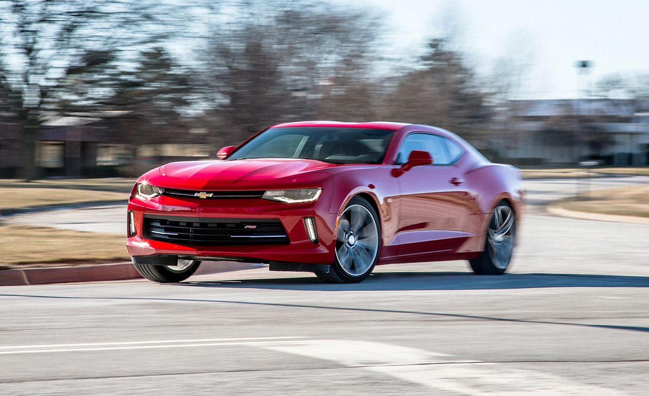 2016 Chevrolet Camaro Lt Rs V 6 Test 8211 Review Car And Driver