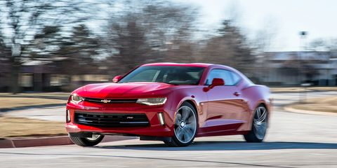 2016 Chevrolet Camaro V 6 Manual