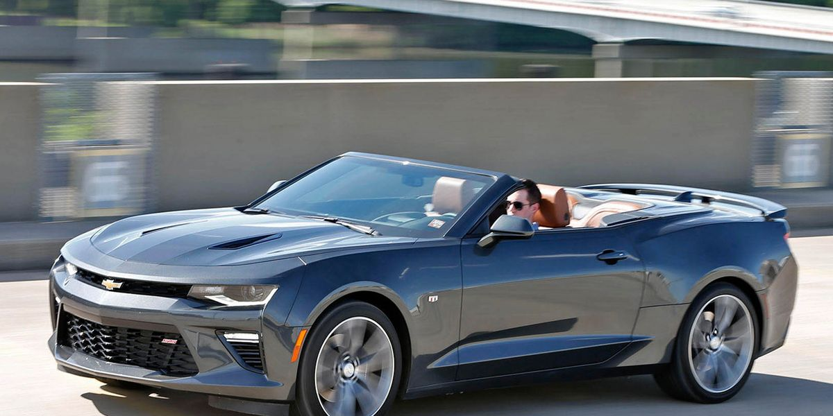 2016 Chevrolet Camaro Ss Convertible Test 8211 Review 8211 Car And Driver