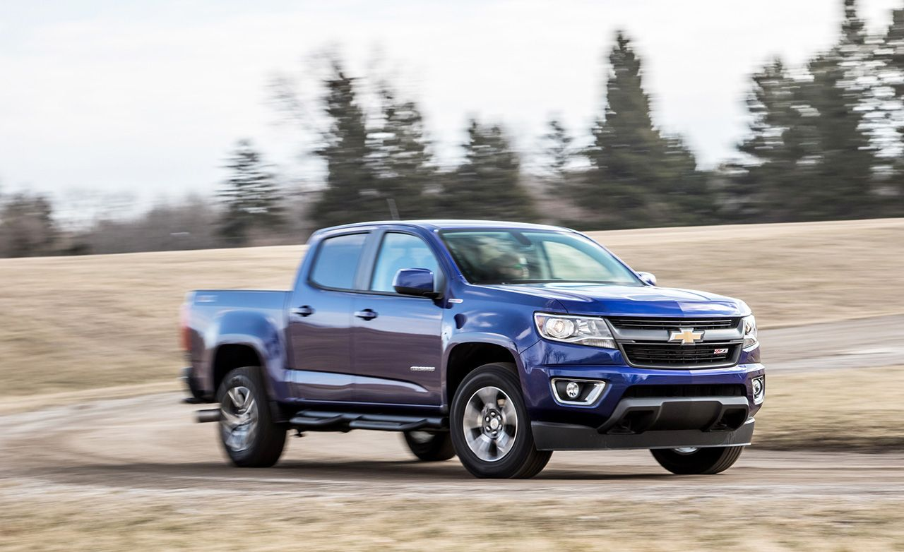 Tested 2016 Chevrolet Colorado Crew Cab 4x4 Diesel