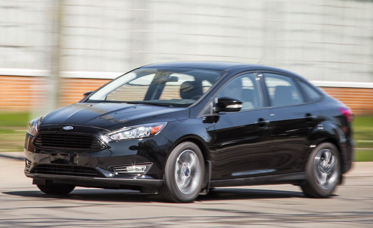 2016 Ford Focus Sedan 1 0 Liter Turbo Automatic Test 8211 Review
