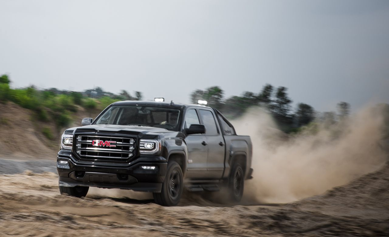 2016 Gmc Sierra 1500 4x4 All Terrain 8211 Review 8211 Car And Driver