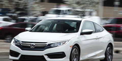2016 Honda Civic Coupe 2 0L Manual Test –