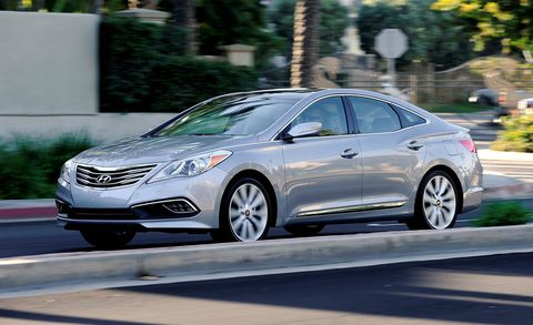 Hyundai Azera 2016 >> 2016 Hyundai Azera Test 8211 Review 8211 Car And Driver
