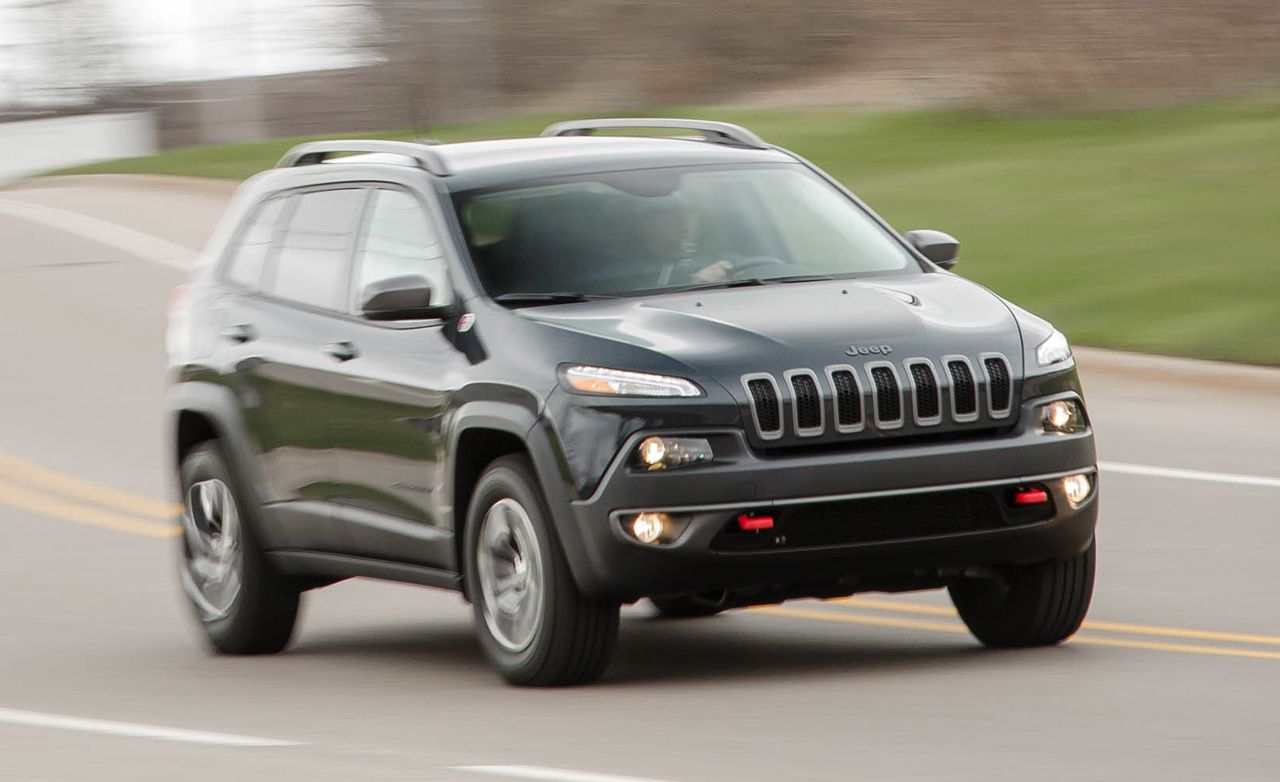 2016 Jeep Cherokee 8211 Review 8211 Car And Driver