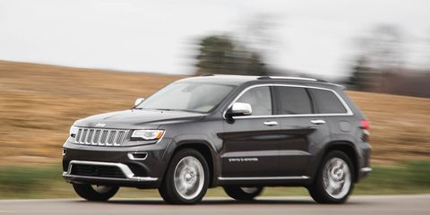 2016 Jeep Grand Cherokee V-6 Test –