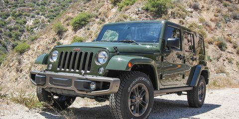 2016 Jeep Wrangler Unlimited Test –