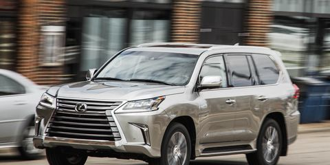 2016 Lexus Lx570 Test 8211 Review 8211 Car And Driver