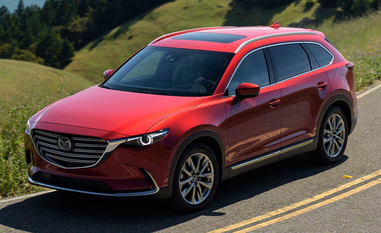 For Mazda CX-9 Automatic Aluminum Car Fuel Brake Foot rest Pedals Sport Set